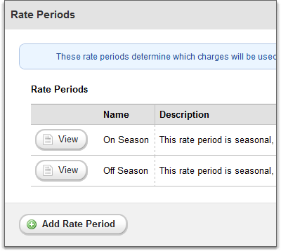 Second rate engine overhaul, rate periods overview page