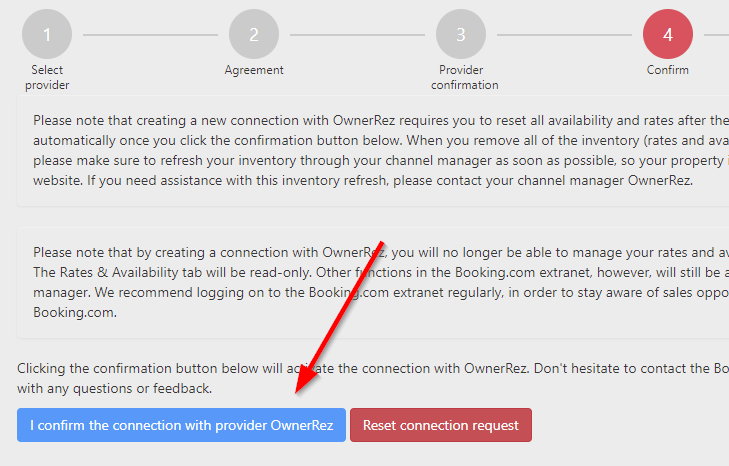 Connect OwnerRez to Booking com - Channel Management
