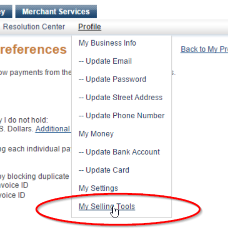 PayPal - Finding the Credit Card Statement Name - Payments